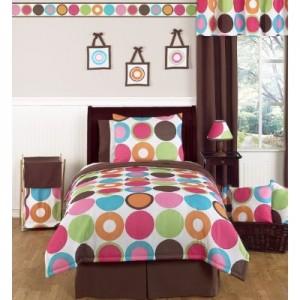 Colorful Polka Dots Comforter