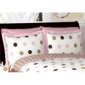Pink Polka Dots Comforter