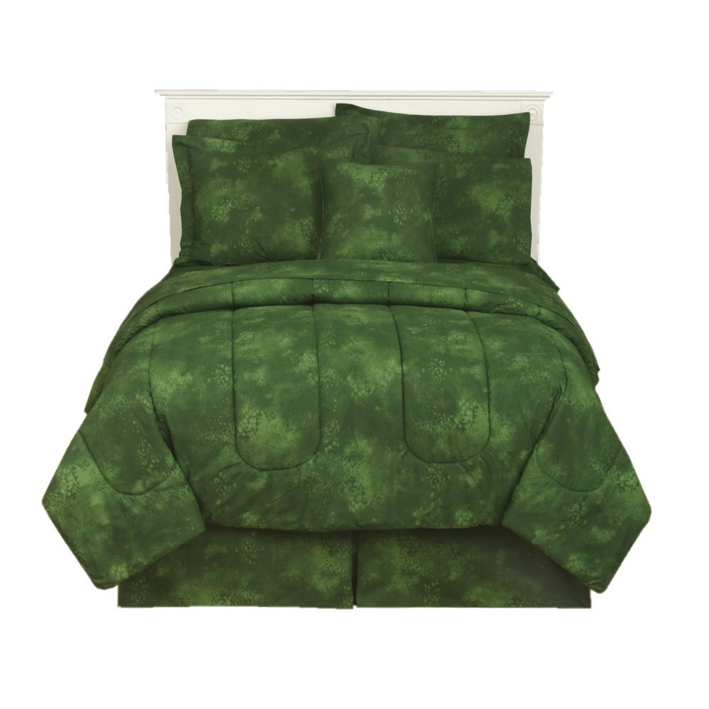 Cheerful Green Comforters