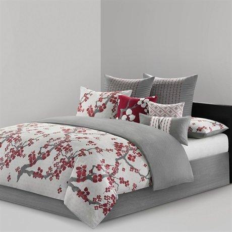 Natori Cherry Blossom Comforter Set
