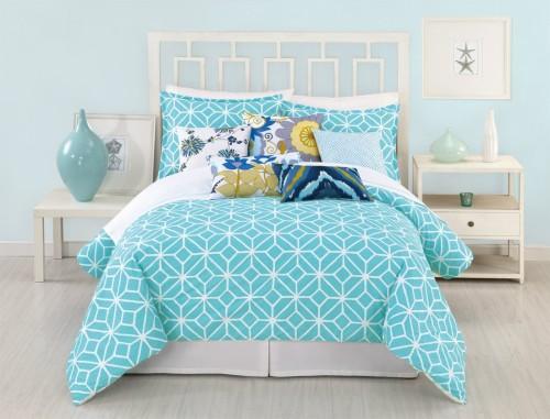 turquoise bedding set