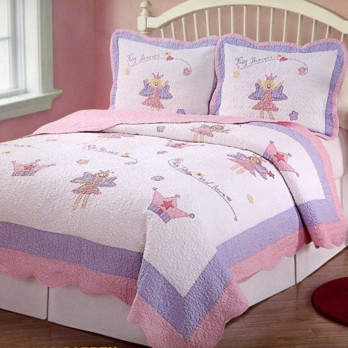 Fairy Princess Garden Twin Bedding Set