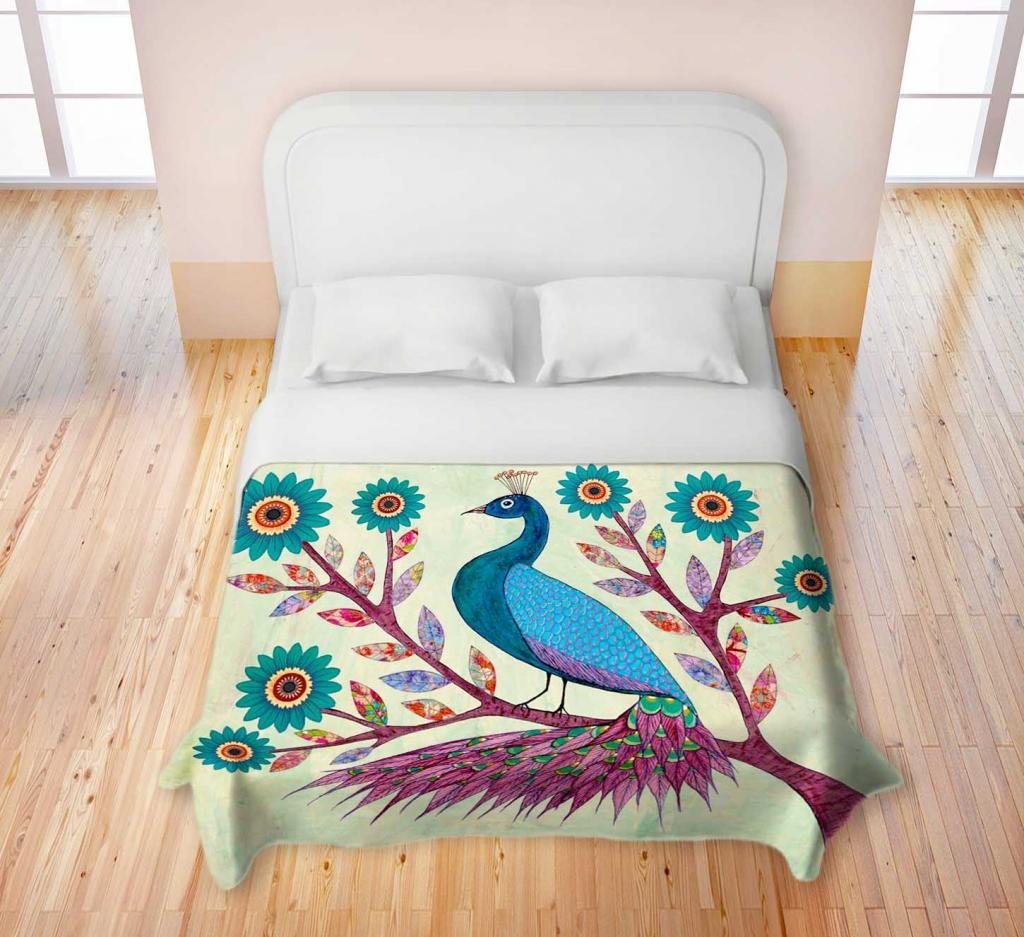 Blue Peacock Bedding