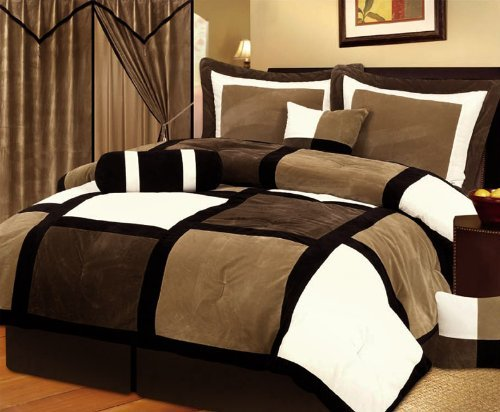 chocolate brown bedding