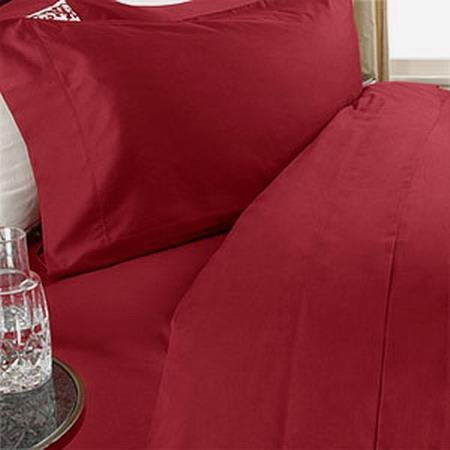 King Size Egyptian Cotton Red Comforter Set