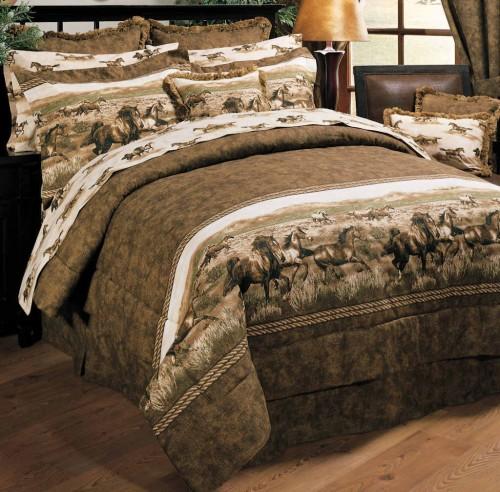 Wild Horses Twin Comforter Set