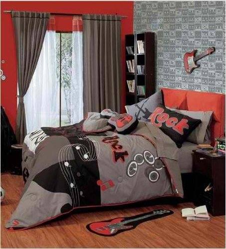 Rock and Roll Teen's Best Seller Reversible Comforter
