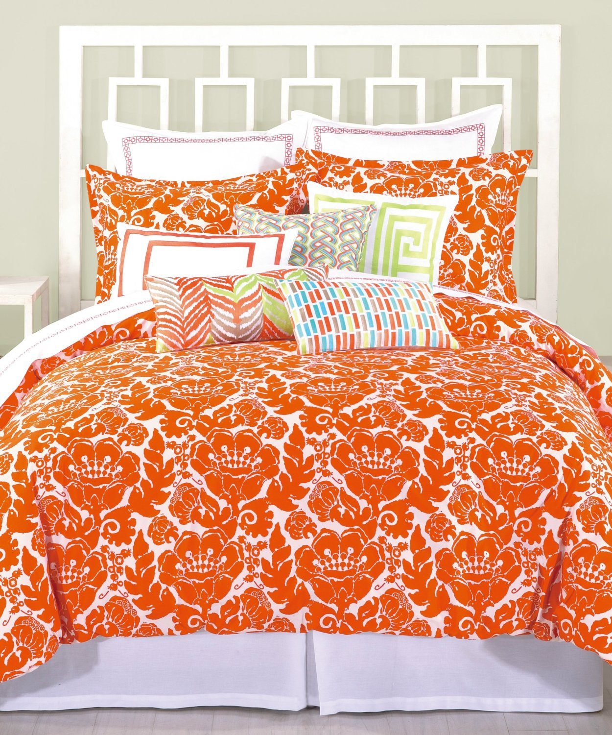 cute orange comforter sets
