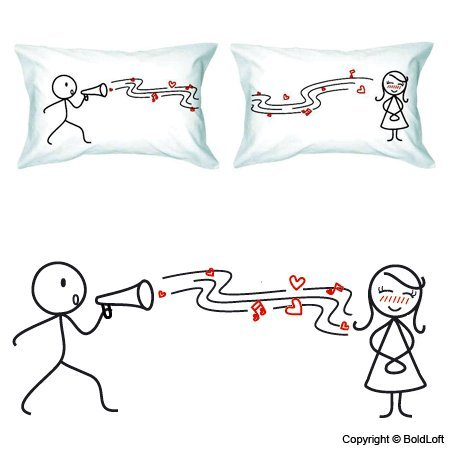 Cute and Romantic Pillowcases