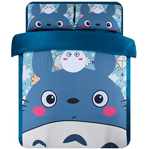 Cute Totoro Bedding Set