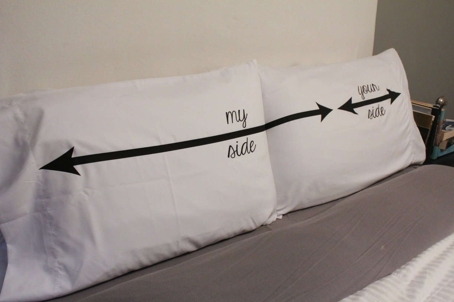 My Side Your Side Fun Pillow Cases