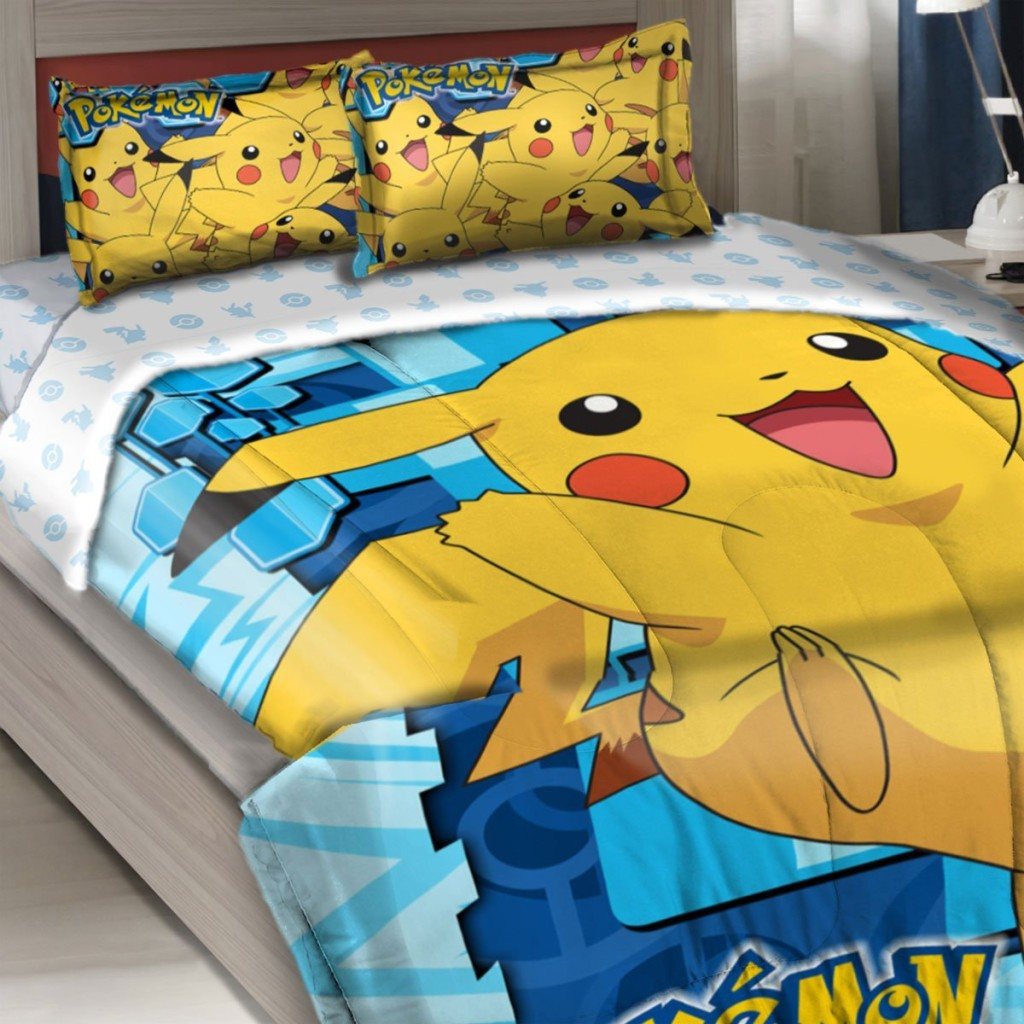 Pokemon Pikachu Comforter Set