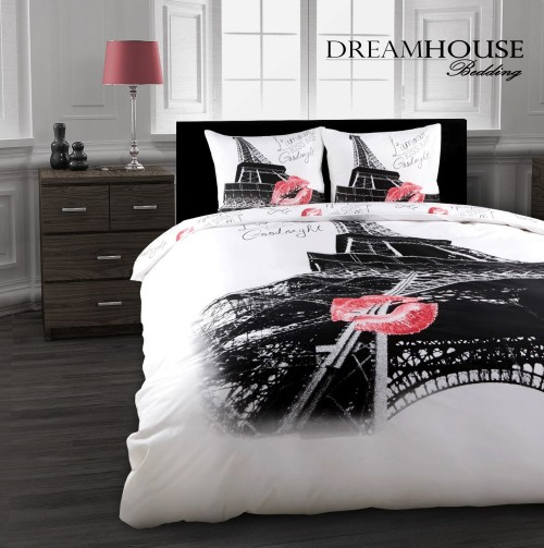 Cool Eiffel Tower Bedding Duvet Cover Set