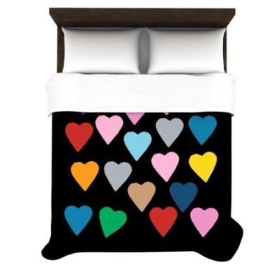 13 Cutest Heart Comforters And Bedding Sets