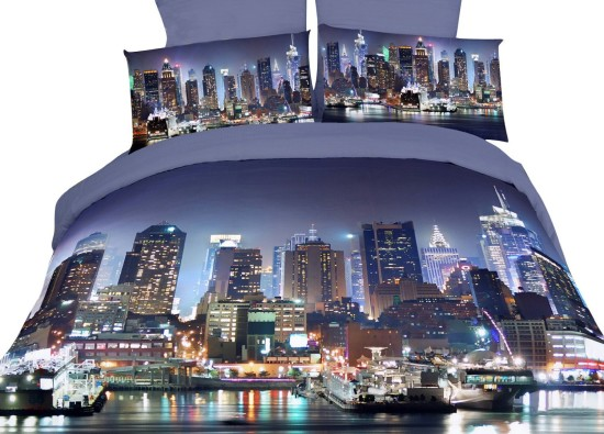 best New York theme bedding sets