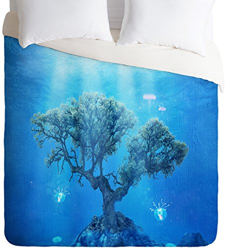 Stunning Underwater Tree Lightweight Duvet Cover