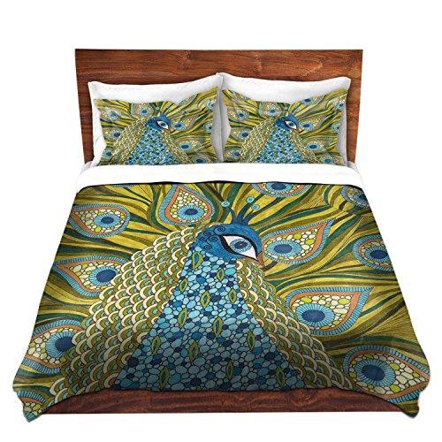 Artistic Peacock Duvet Cover