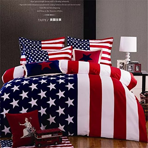 Beautiful Patriotic Bedding Set