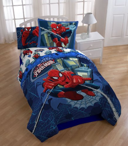 Spider Man Awesome Comforter Set for Boys
