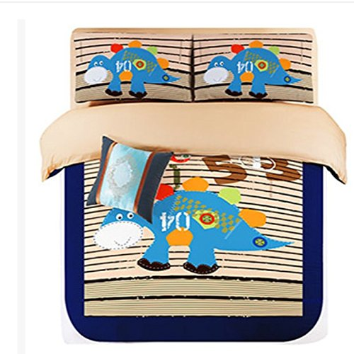 Fun Blue Dinosaur Bedding for Kids