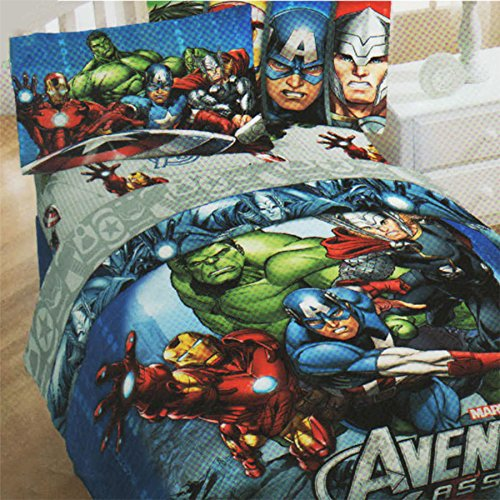Marvel Comics Avengers Twin Bedding Set