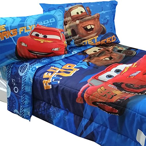 Fun Disney Cars Full Bedding Set for Boys