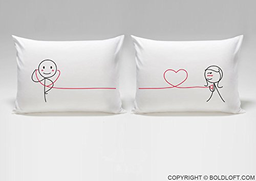 Romantic Couple Pillowcases