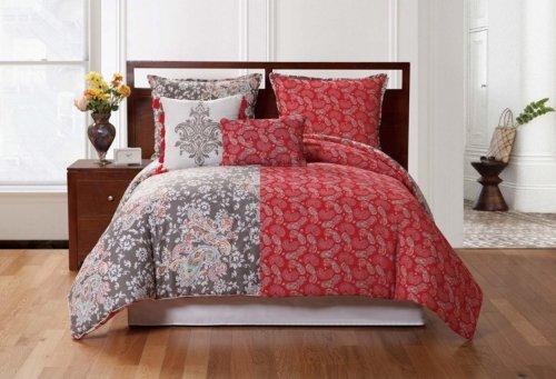 Victoria Classics 4-Piece Reversible Comforter Set