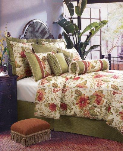 Jennifer Taylor 4 Pcs Elegant Floral Comforter Set