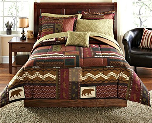 Beautiful Rustic Style Bedding Set