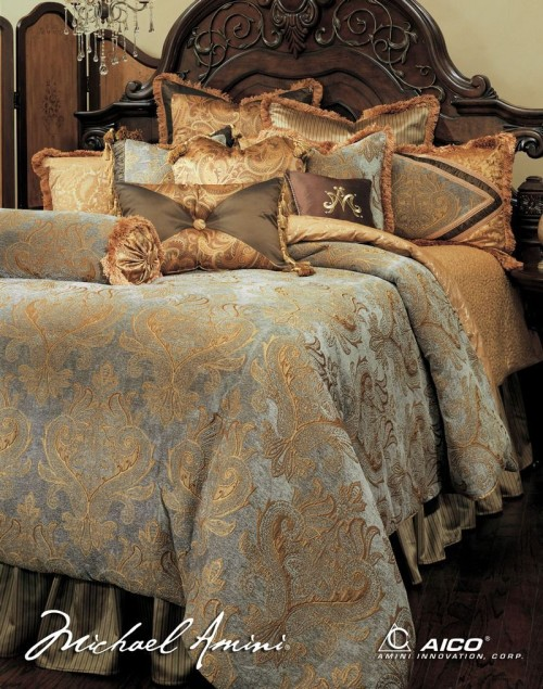 Luxurious 13 Piece Comforter Set. Beautiful Luxury Comforter Sets for Your Bedroom
