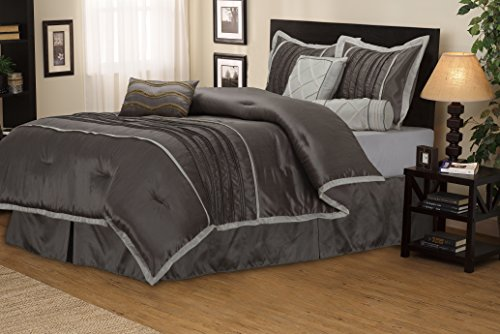 Luxurious Silver Comforter Set