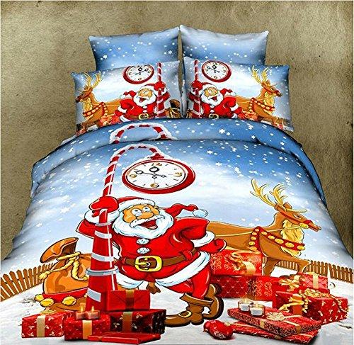 Santa Duvet Cover Set