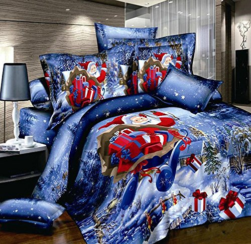 Cheerful Christmas Bedding Set