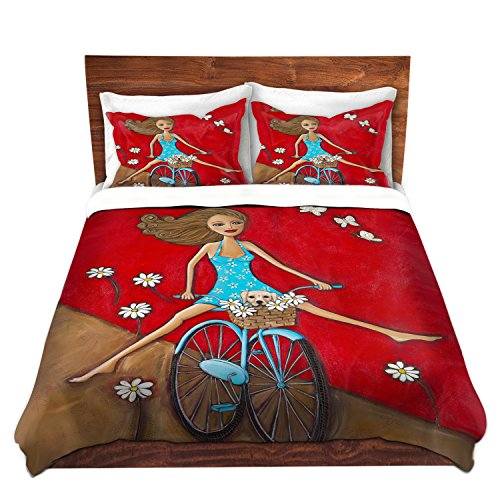 One Fun Spring Day Happy Artistic Bedding Set