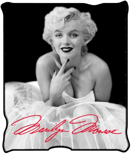 Marilyn Monroe Plush Throw Blanket