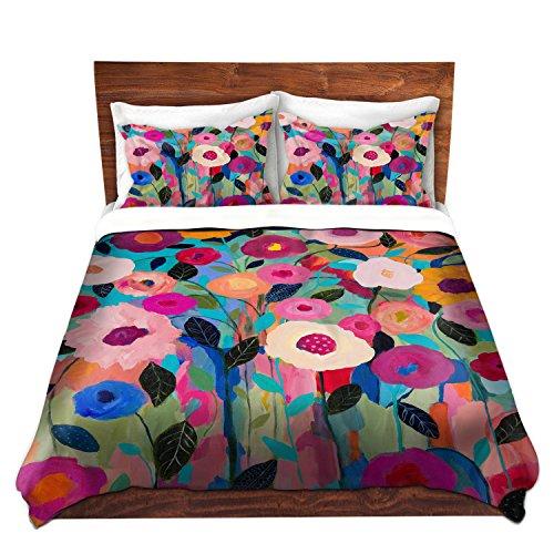 Artistic Floral Design Bedding Set