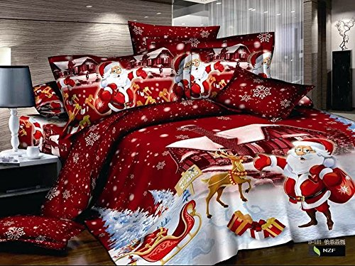 Cutest Christmas Comforters And Bedding Sets