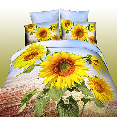 Most Beautifull Deco Paint Complete Bed Set: I Found The Most Beautiful Sunflower Bedding Sets