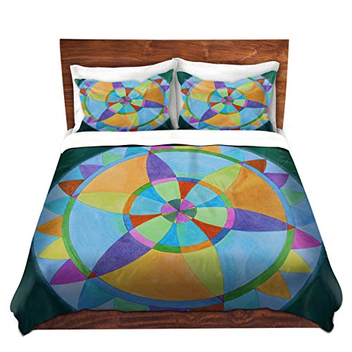 Colorful Mandala Design Bedding Set