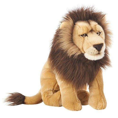 cute plush lion