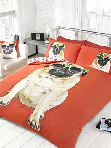 PUG IN SUNGLASSES Bedding Set