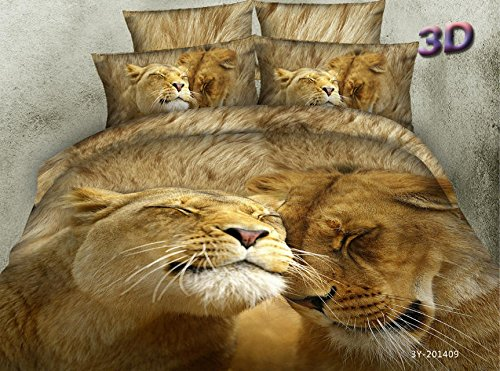 Lover Lions Bedding Set