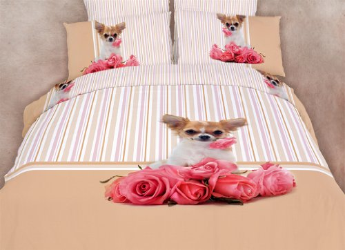 Cute Dog Print Bedding