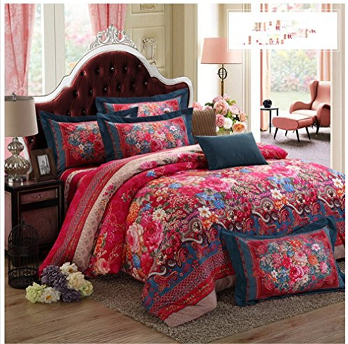 Floral Bohemian Bedding Set