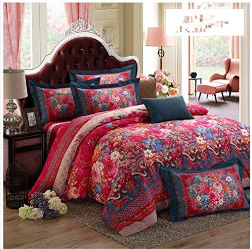 Floral Bohemian Bedding Set