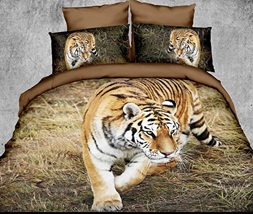 Realistic Tiger Bedding