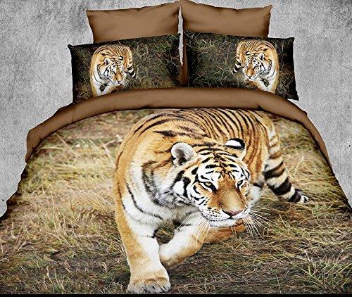 Realistic Tiger Bedding