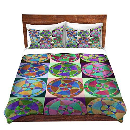Colorful Mandalas Duvet Cover Set