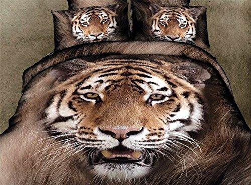 Realistic 3D Tiger Bedding Sets